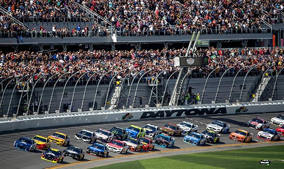 Daytona 500 at Daytona Beach, Florida