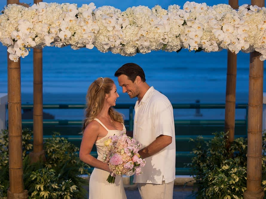 Bride & GroomWeddings at Hilton Daytona Beach Resort