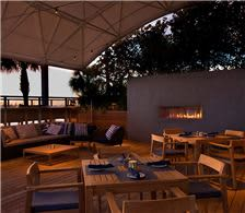 Rowe Bar Firepit Pavilion Seating - The Don CeSar Hotel Dining - Rowe Bar Firepit Pavilion Seating