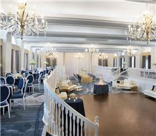 Grand Ballroom set for Wedding Reception - The Don CeSar Hotel - Grand Ballroom set for Wedding Reception