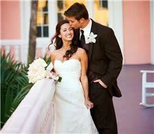 Bride & Groom on the Terrace - The Don CeSar Hotel Weddings - Bride