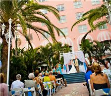 Courtyard Wedding Ceremony - The Don CeSar Hotel Weddings - Courtyard Wedding Ceremony