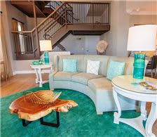 Penthouse Suite Living Area - The Don CeSar Hotel - Penthouse Suite Living Area