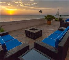 Penthouse Terrace at Sunset - The Don CeSar Hotel - Penthouse Terrace at Sunset