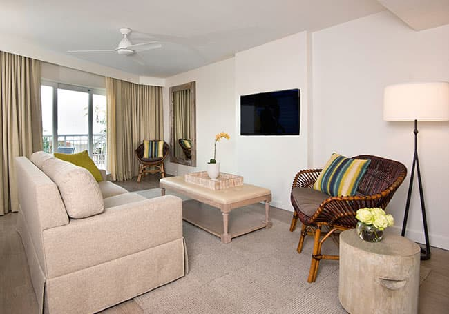 Superior King in Beach House Suites