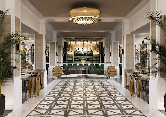 The Don CeSar Hotel offering Lobby Bar