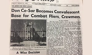 1944 Don News Paper Clipping