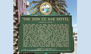 1974 Historic Hotel Plaque