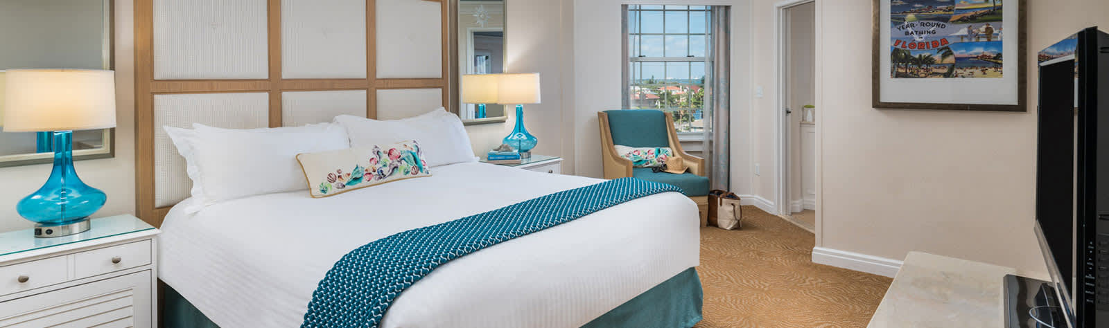 Rooms at The Don CeSar, Florida