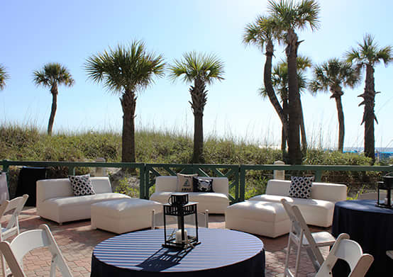 Arrange your Meetings at Beach Pavilion of The Don CeSar Hotel