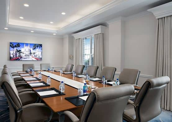 Executive Boardroom Suite at The Don CeSar Hotel