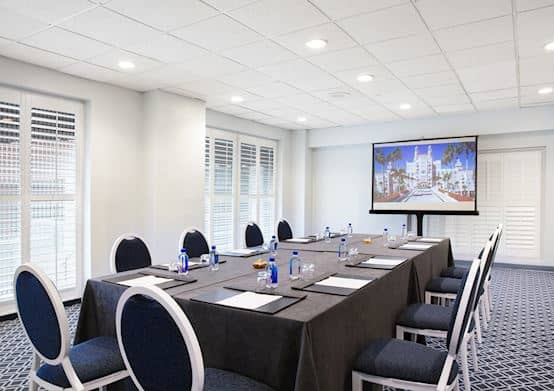 Have Additional Meeting Rooms in The Don CeSar Hotel