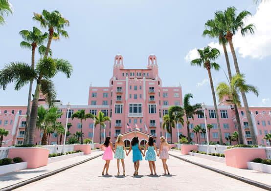 Girlfriend Getaways at St. Pete Beach Hotel