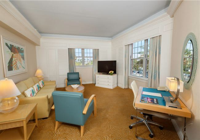 The Don Cesar Hotel Florida One Bedroom Bayside Balcony Suite