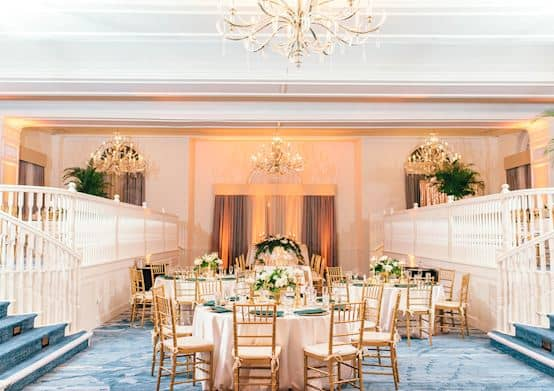 The Don CeSar Hotel offering Grand Ballroom for weddings Reception