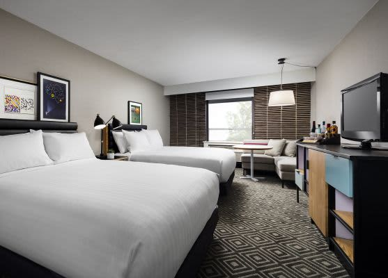 Freepoint Hotel Cambridge, Tapestry Collection, Cambridge Deluxe Two Queen Room ADA