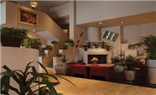 Grand Canyon Plaza Hotel - Lobby with Fireplace