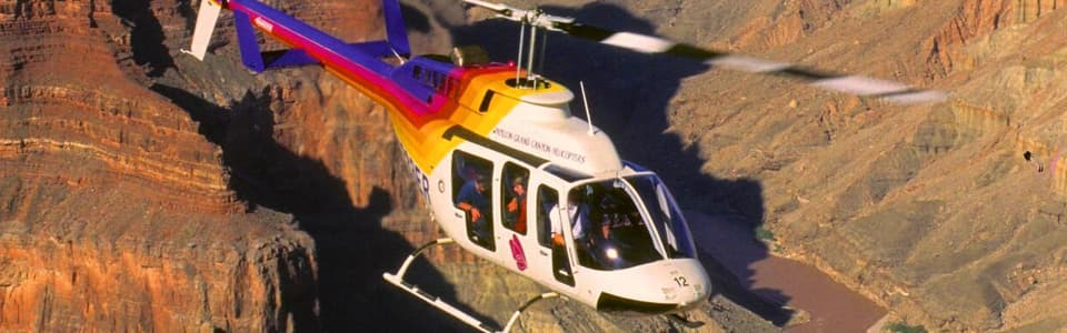 North Canyon Helicopter Tour Package at Grand Canyon Arizona Hotel