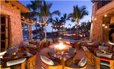 Hacienda Beach Club & Residences Amenities - Restaurant at Dusk