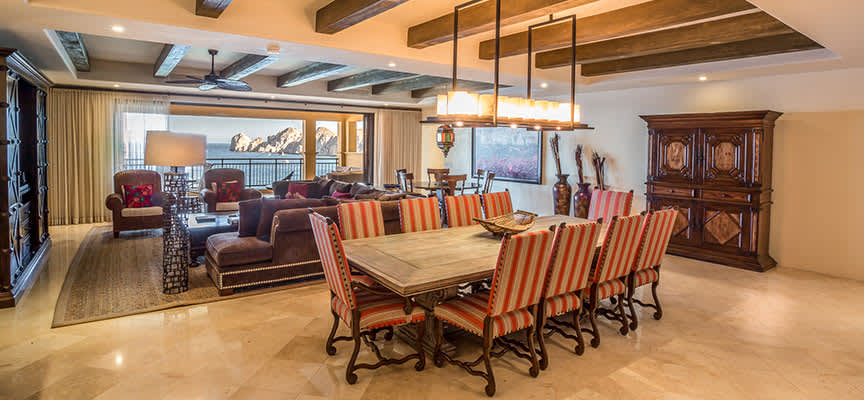 Four Bedroom Oceanview at Hacienda Beach Club & Residences, Baja California Sur