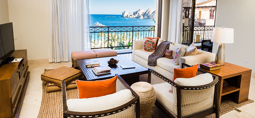 One Bedroom Residence Oceanview at Hacienda Beach Club & Residences, Baja California Sur