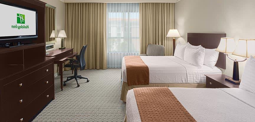 Holiday Inn Baton Rouge College Drive I-10, Louisiana 2 Doubles on Executive Level