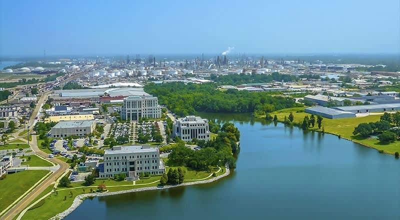 Downtown Baton Rouge at Louisiana