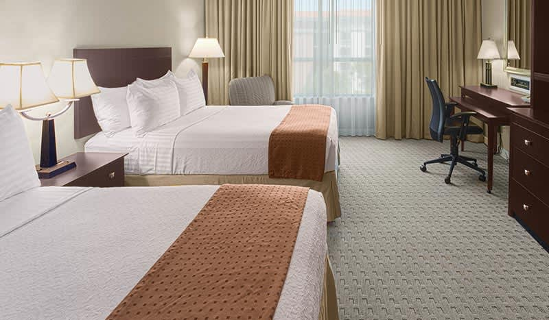 Holiday Inn Baton Rouge College Drive I-10 Hotel, Louisiana Double Bed Standard