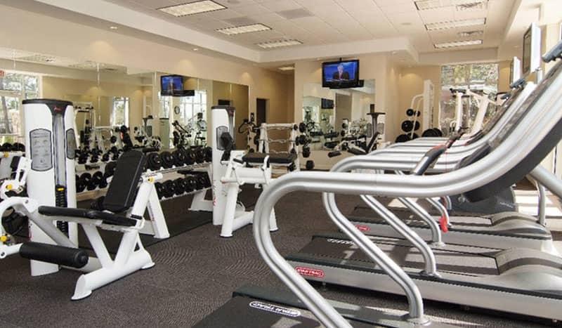 Fitness Center at Holiday Inn Baton Rouge College Drive I-10 Hotel, Louisiana
