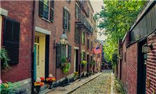 Boston - Cobbled Street