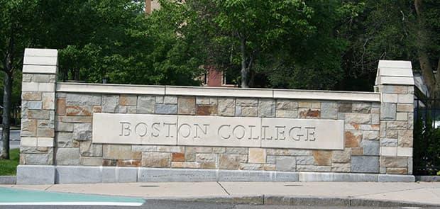 Boston College Chestnut Hill, Massachusetts