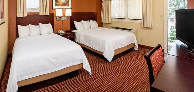 Hotel Boston Standard Two Double Beds