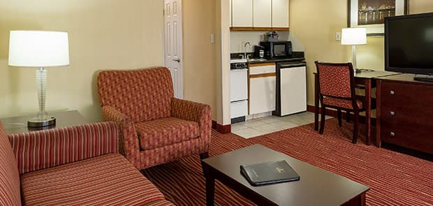 One King Bed Suite from Hotel Boston