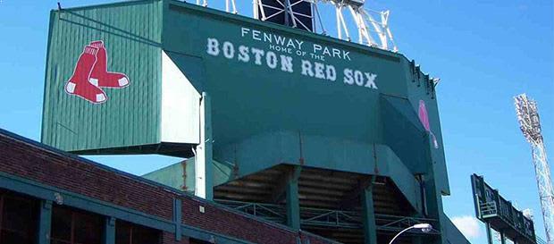 Fenway Park at Boston, Massachusetts