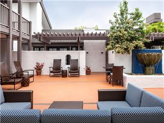 Hotel Outdoor Seating Area