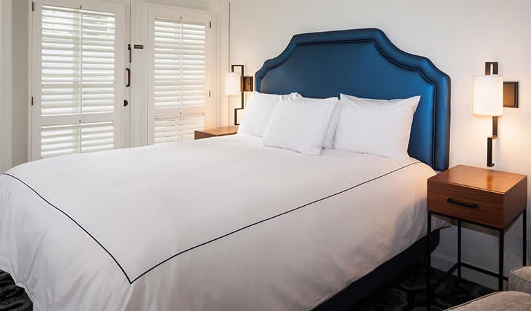Luxury Junior Suite 1 King at Hotel Pacific Street Monterey California