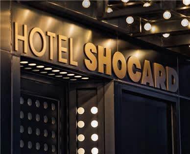 Hotel Shocard - Entrance