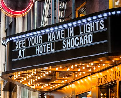 Hotel Shocard Rooms - Marquee
