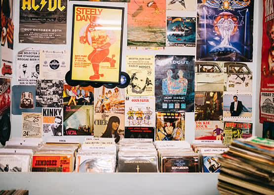 Bleecker Street Records in New York