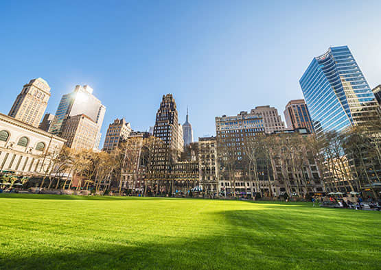 Bryant Park in New York