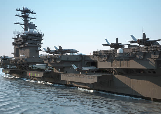 Intrepid Sea, Air and Space Museum in New York