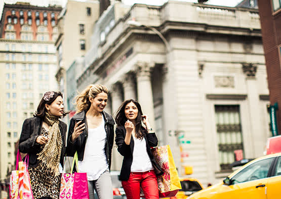 Shop with Your Girlfriend in New York City