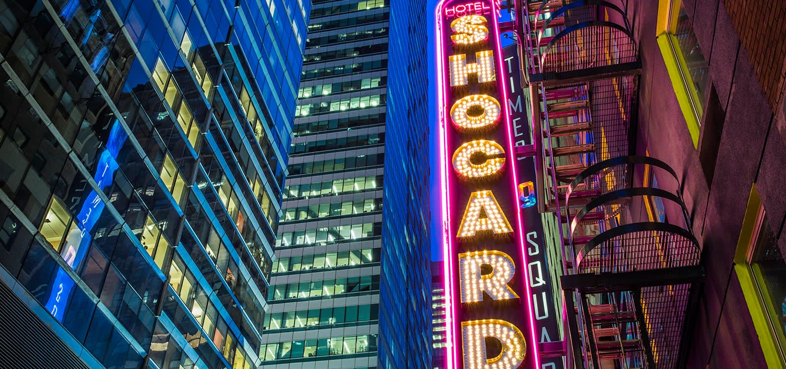 Location of Hotel Shocard, New York