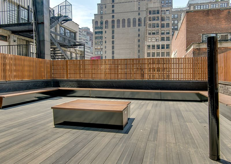 Rooftop Terrace at Hotel Shocard, New York