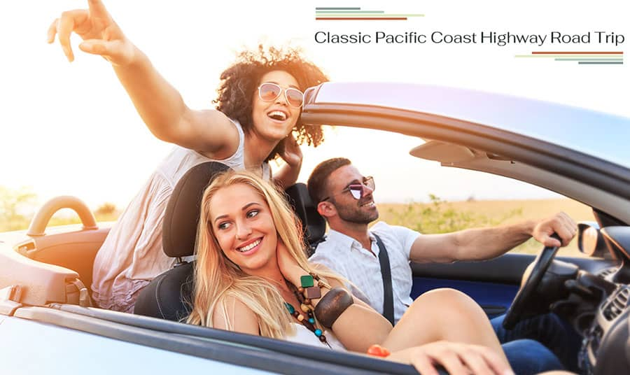 A Classic Pacific Coast Highway Road Trip