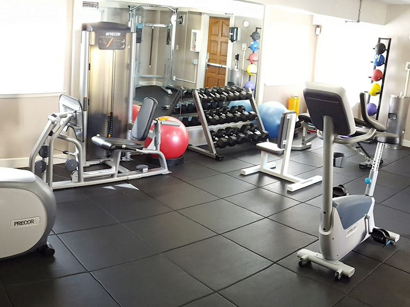 Fitness Center at Hotel Strata Mountain View, California