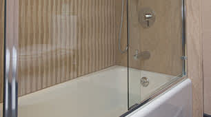 Hotel Strata Tub Shower