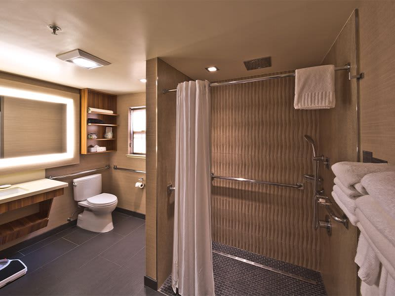 2 Queen Bed Accessible Room with Kitchen at Hotel Strata, Mountain View