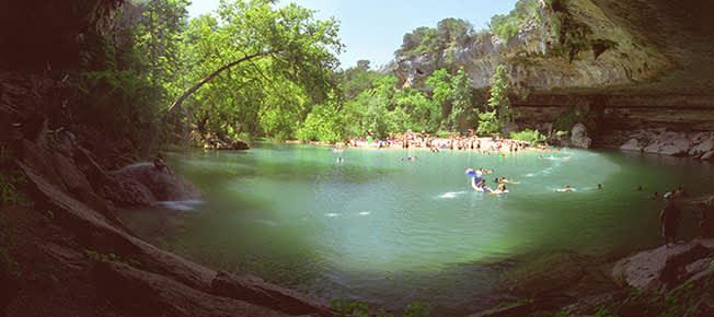 Hamilton Pool Nature Preserve of Texas