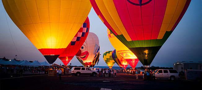 Balloons Over Horseshoe Bay Resort, Texas